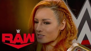 Becky Lynch declares she is facing Asuka at Royal Rumble: Raw, Dec. 30, 2019