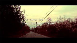 gnash - belong ft. DENM (lyric video)