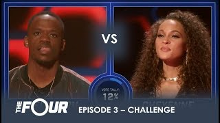 Rell vs Cheyenne: Rapper Wants To AVENGE The Loss of Lex Lu Will It Work?   S1E3   The Four