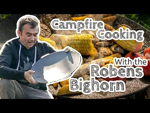 video Using the Robens Bighorn for a Family Campfire Cookout