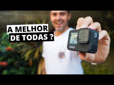 GOPRO HERO 9 - Primeiras impressões (em português)