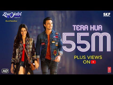 Atif Aslam: Tera Hua Video - Loveratri - Aayush Sharma - Warina Hussain - Tanishk Bagchi Manoj M