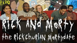 Rick and Morty - 3x10 The Rickchurian Mortydate - Group Reaction