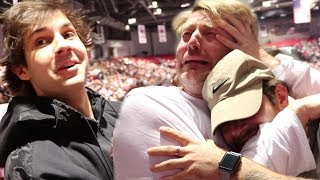 DAD BREAKS DOWN AT SON'S COLLEGE GRADUATION!! (EMOTIONAL)