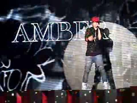 f(x) amber showcase cam - solo rap