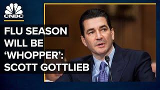 Why The Flu Season Will Be A 'Whopper': Former FDA Chief Scott Gottlieb