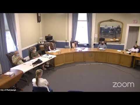 Plattsburgh Common Council Meeting  9-16-21