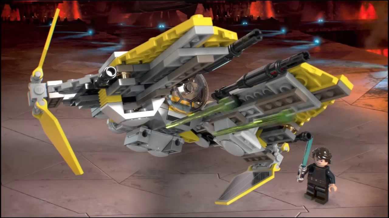 Lego jedi interceptor instructions 75038, star wars episode 3.