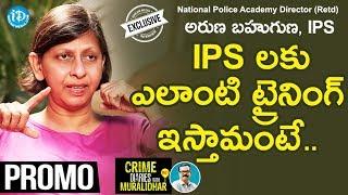 Crime Diaries with Aruna Bahuguna IPS - Promo..