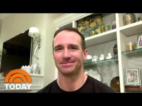 Drew Brees Reveals He's Going To Work For NBC Sports | TODAY