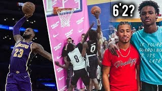 Bronny James IS DUNKING LIKE LeBron NOW!! Got Buckets And Hit Game Winner In Miami!!
