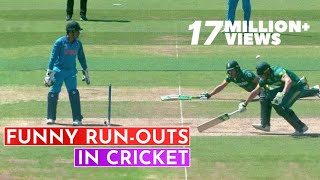 Top 10 Funniest Run-Outs in Cricket History   Cricket 18 - YouTube