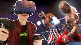 VIRTUAL REALITY BOXING SIMULATOR! | Creed: Rise to Glory VR (HTC Vive Pro + bHaptics Suit Gameplay)