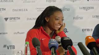 Gymnastic Championships 2019: Supestar Simone Biles press conference