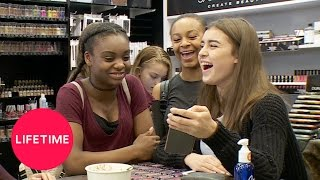 Dance Moms: Girls' Day Off - Makeup Shopping | Lifetime