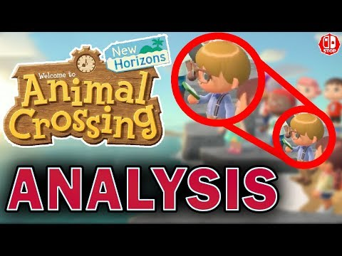 5 BIG Details In The Animal Crossing NEW HORIZONS Trailer! (Animal Crossing Switch Analysis)