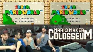 Poo And Ryu Vs Keys And Panga! Super Mario World Randomizer Co-op Race!