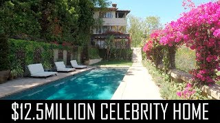 We toured Mischa Barton's $12.5 million home!
