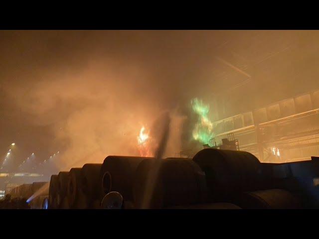 燁聯大火》高市府下令火災廠區停工調查 勞工局率先開罰30萬元