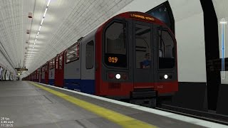HmmSim 2 - Central Line (Ealing Broadway to Liverpool Street Route