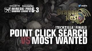 Game 1 - Most Wanted vs PCS - Dragon Nest MPGL 6 - 3 Techzilla Tarlac