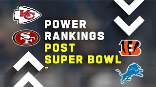 Post Super Bowl Power Rankings!