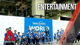 Iron Man is the man: Robert Downey Jr's surprise appearance for Make-A-Wish in Singapore