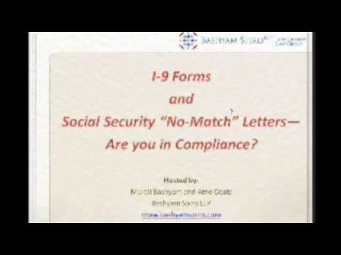 Immigration Webinar (Part 3): I-9 & SS Mismatch Letter Audits Violations and Penalties