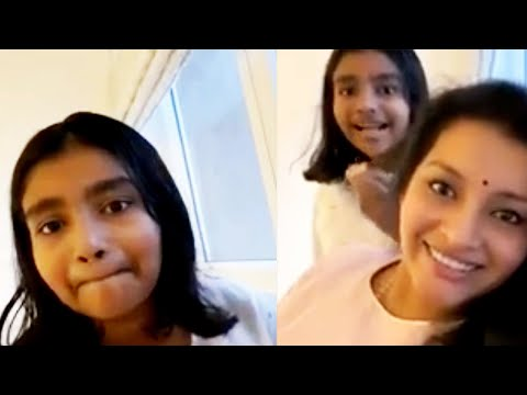 Pawan Kalyan daughter Aadhya online with Uttej daughter