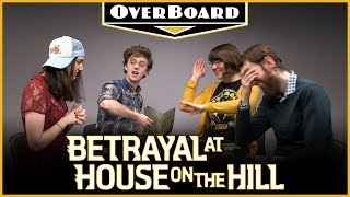 Let's Play BETRAYAL AT HOUSE ON THE HILL | Overboard, Episode 4