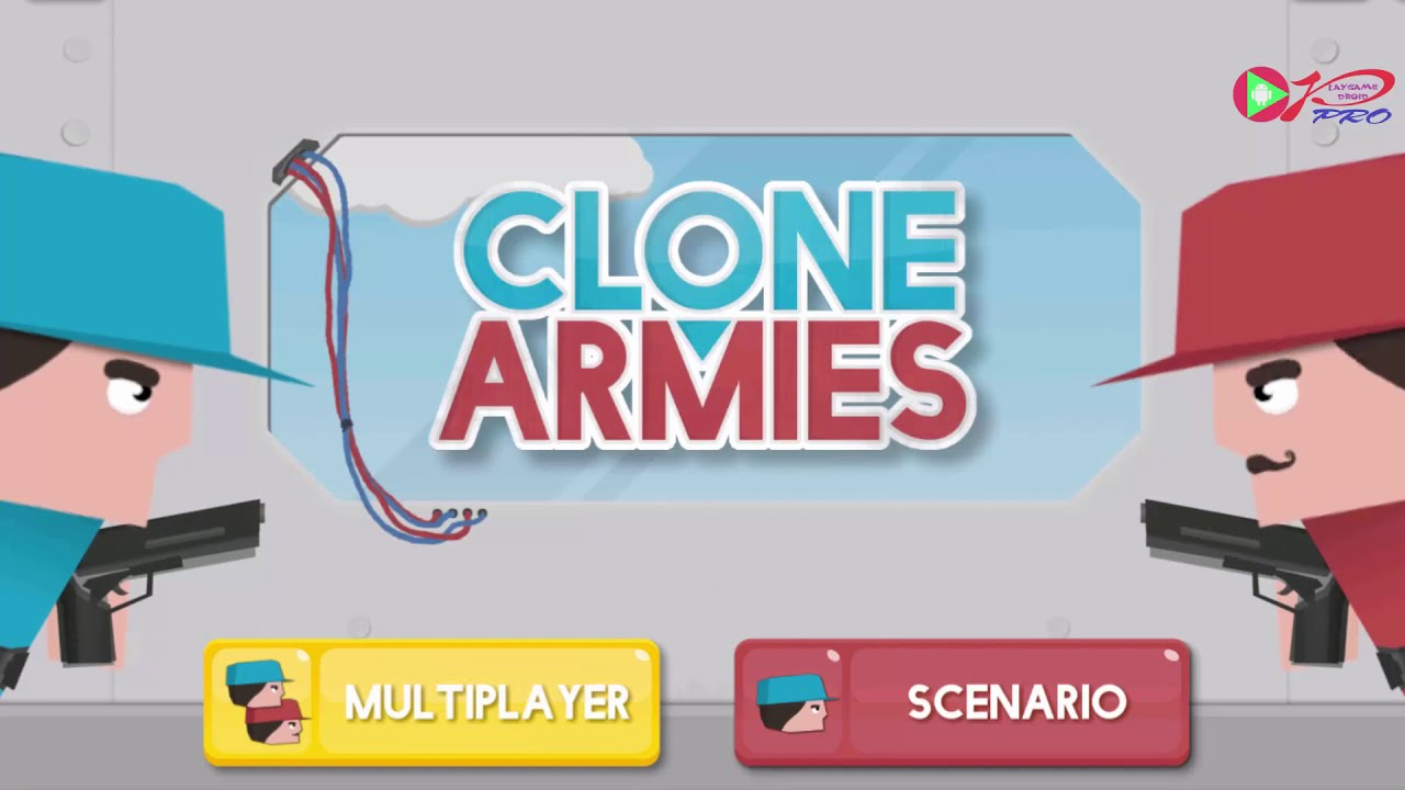 CLONE ARMIES - Walkthrough Gameplay Part 3 - LEVEL 8 (iOS