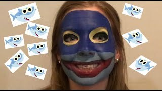 Baby Shark Make Up Tutorial Gone Totally Wrong