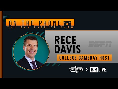 College GameDay's Rece Davis Talks CFP Rankings & More with Dan Patrick | Full Interview | 11/13/19