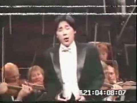 Liao Changyong (廖昌永) at the Placido Domingo Operalia (1997)