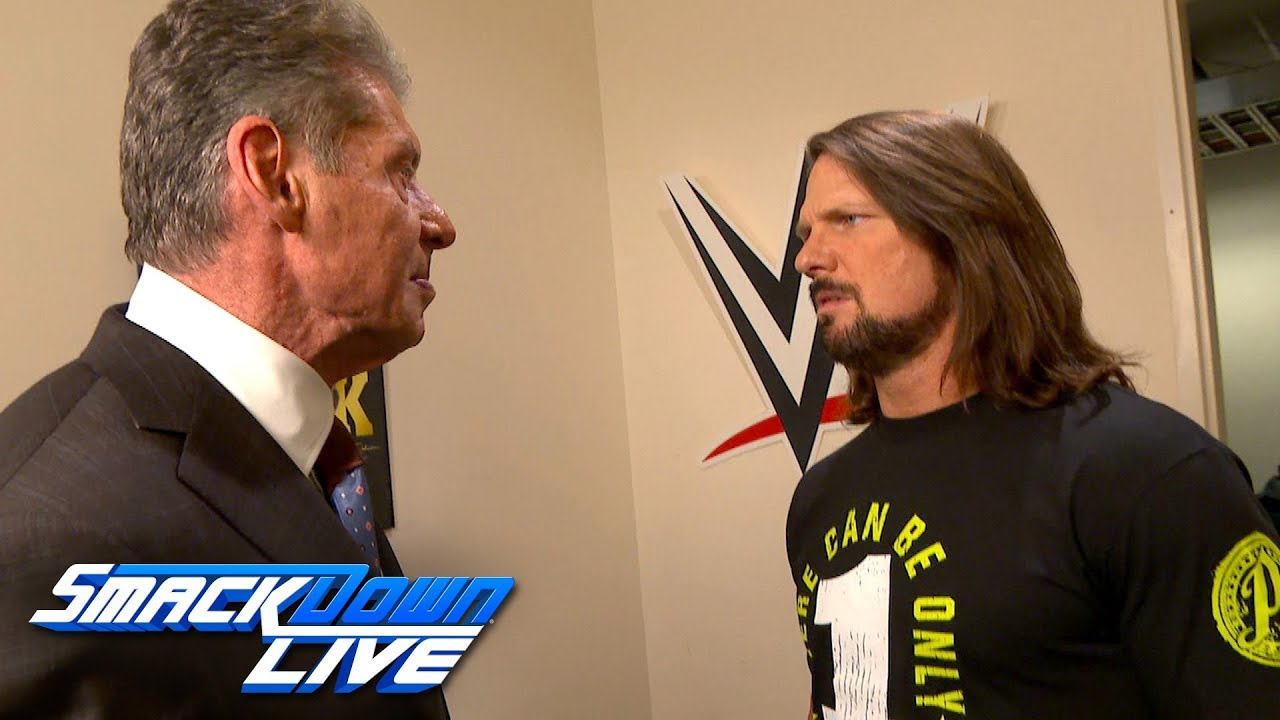 Image result for AJ Styles Drops Vince McMahon On WWE SmackDown To Begin Interesting New Storyline, WWE Edits Segment