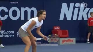 Ana Ivanovic vs Marion Bartoli 2008 Zurich Highlights
