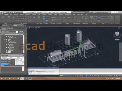 Webcast: Generación de planos isométricos y ortográficos con AutoCAD Plant 3D
