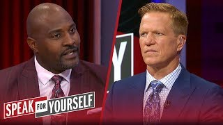 Marcellus Wiley reacts to banning of Warriors co-owner from future games | NBA | SPEAK FOR YOURSELF
