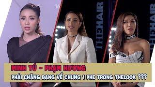 Minh Tú - Phạm Hương phải chăng đang về chung 1 phe trong The look - Kỳ Duyên sẽ như thế nào???