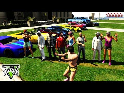 GTA 5 Birthday Special! - GTA 5 Online Mini Games - Hipster Hunt, Infected, Piggy Hunt GTA 5