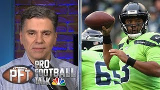 Russell Wilson dominates in win over Los Angeles Rams on TNF | Pro Football Talk | NBC Sports