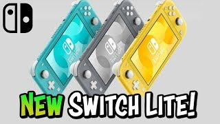 NEW! Nintendo Switch Lite • Reaction + Release Date & Price