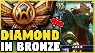 I TOOK MY ILLAOI INTO BRONZE 5! DIAMOND ILLAOI MAIN VS BRONZE ELO! - League of Legends