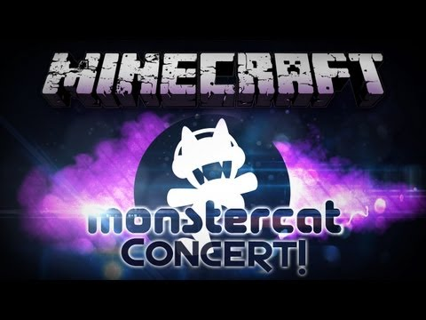 Minecraft: Monstercat Charity Music Festival - Concert In Minecraft! - Smashpipe Games