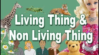 Living and Non Living Things for Kids