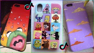 Tik Tok Painting On Phone Cases Compilation 2019