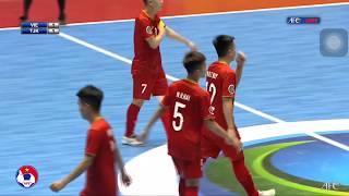 Highlight U20 Việt Nam thắng ngược U20 Tajikistan | U20 Futsal châu Á| VFF Channel