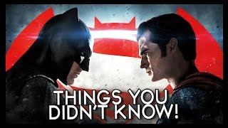 7 Things You (Probably) Didn't Know About Batman AND Superman!