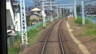 阪急嵐山線 列車前頭景觀 (2014.05.10)
