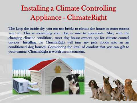 Making Or Buying Air Conditioned Dog Houses Then Read This